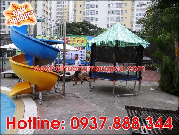 Cầu tuột hồ bơi đẹp và giá rẻ tại HCM