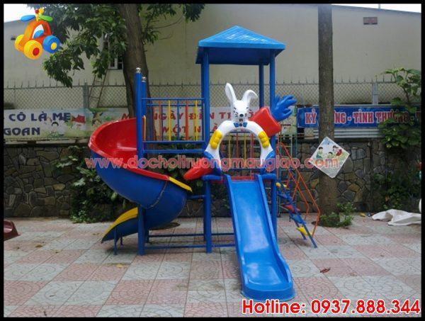 Cầu tuột trẻ em cứng cáp, an toàn với giá rẻ tại HCM