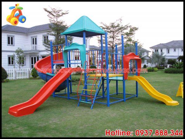 Hệ thống cầu tuột trẻ em chất lượng, giá rẻ tại HCM