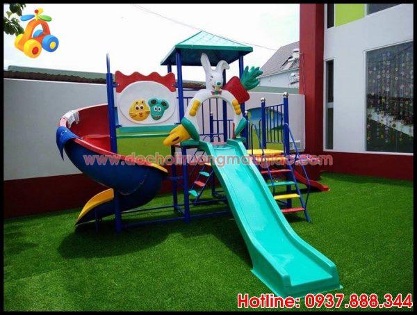 Cầu tuột trẻ em ngộ nghĩnh và đẹp mắt giá rẻ tại HCM