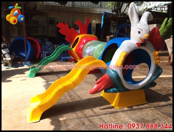 Hình ảnh: Cầu tuột trẻ em ngộ nghĩnh giá rẻ tại HCM
