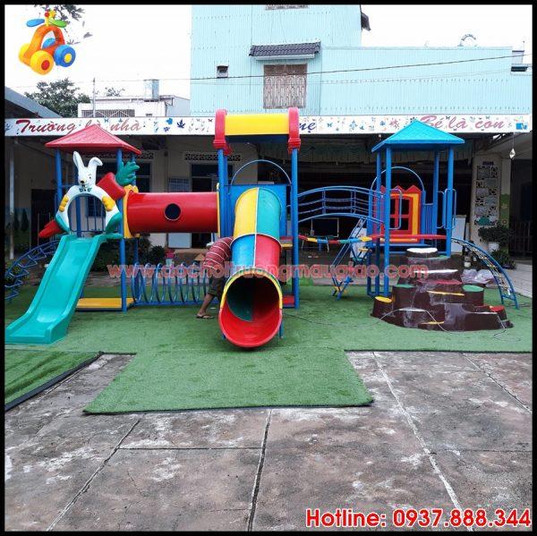 Cầu tuột trẻ em đẹp, an toàn, giá rẻ tại HCM
