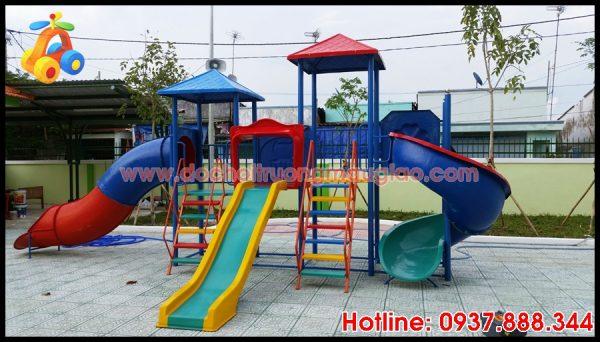 Cầu trượt an toàn, năng động dành cho trẻ tại HCM