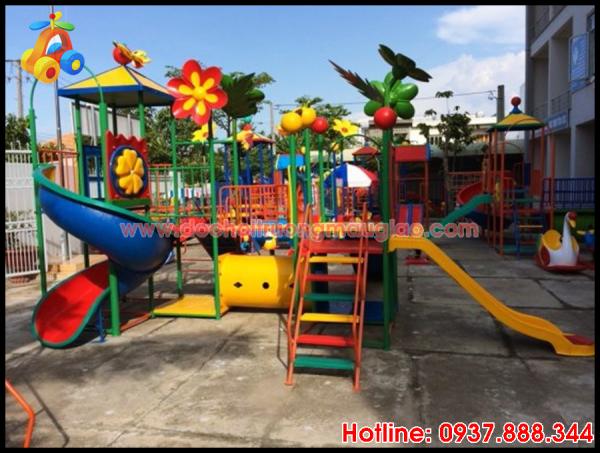 Hình ảnh: Cầu trượt đủ màu sắc,, năng động dành cho trẻ nhỏ với giá rẻ tại HCM