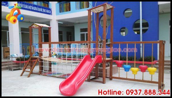 Cầu trượt dành cho trẻ em uy tín chất lượng, giá rẻ tại HCM