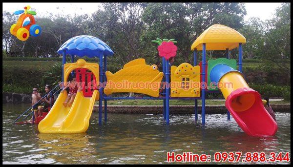 Hình ảnh Cầu trượt nước dành cho trẻ em tại HCM với giá rẻ