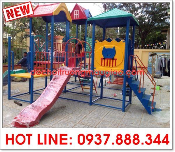 Cầu trượt liên hoàn an toàn dành cho trẻ tại TpHCM