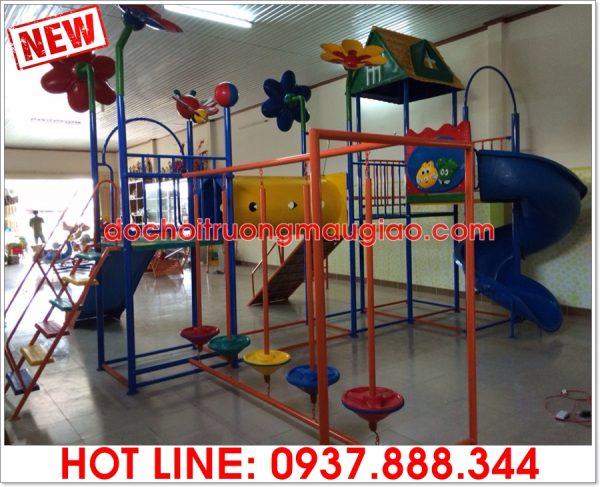 Bộ cầu trượt đa năng dành cho trẻ em sản xuất bởi cty Vân Anh