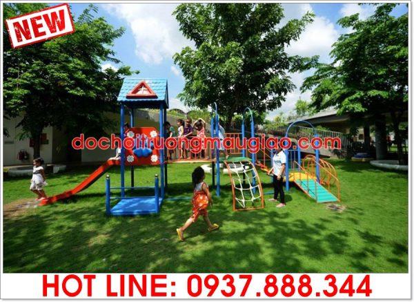 Bộ cầu tuột đa năng dành cho trẻ lắp cho công viên với giá rẻ tại tpHCM