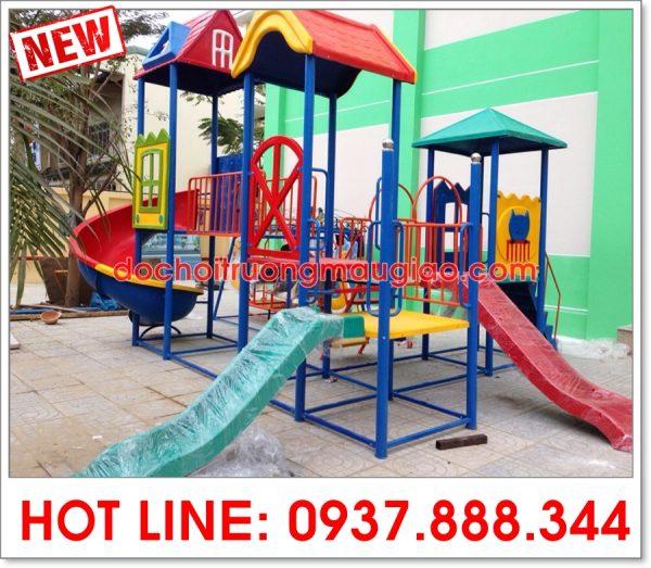 Cầu trượt liên hoàn an toàn và chất lượng dành cho trẻ nhỏ