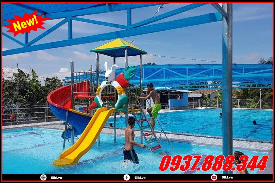 Cầu trượt hồ bơi rẻ em được dùng cho trẻ em khoảng bao nhiêu tuổi?