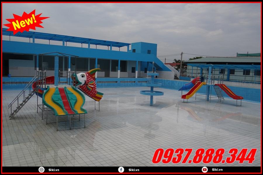 Một số lý do nên mua đồ chơi cầu trượt hồ bơi tại Vân Anh