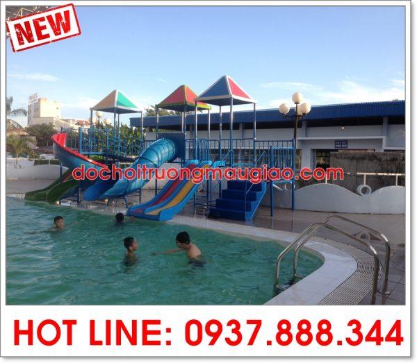 Các mẫu cầu trượt hồ bơi khác của cty Vân Anh