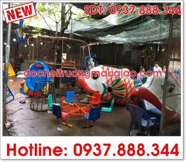 Các sản phẩm đồ chơi mẫu giáo được sản xuất ra tại xưởng sản xuất của công ty Vân Anh