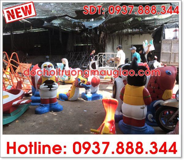 Các sản phẩm đồ chơi trường mẫu giáo được sản xuất bởi cty Vân Anh