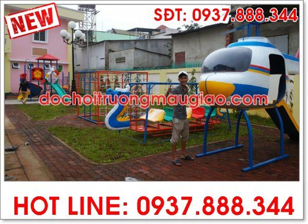 Đồ chơi cầu trượt giá rẻ dành cho trường mẫu giáo của công ty Vân Anh