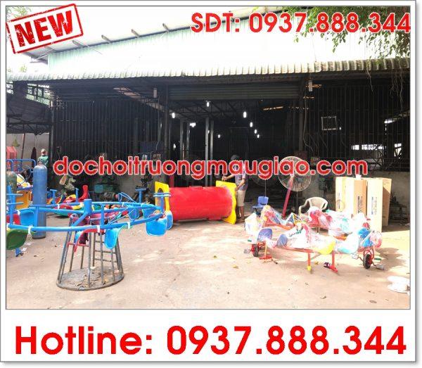 Xưởng sản xuất đồ chơi mầm non của cty Vân Anh