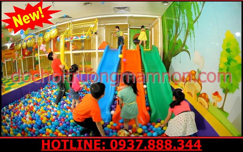 nhà banh trẻ em liên hoàn