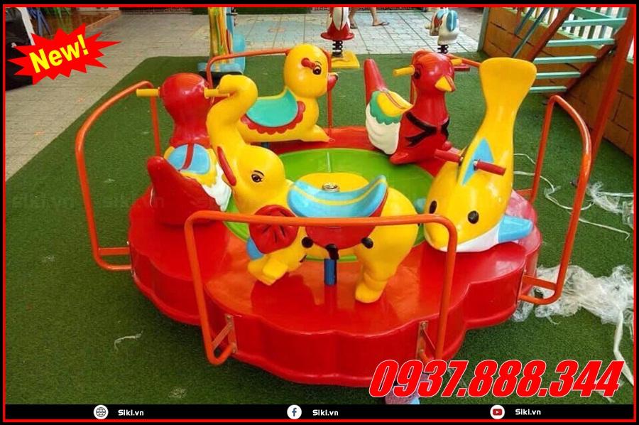 Trò chơi mầm non đu quay mâm bổ ích nhất cho trẻ em
