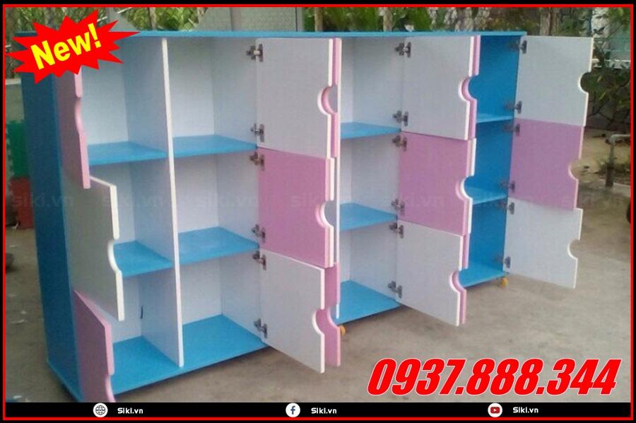 Tủ kệ chứa đồ cho bé yêu nhiều tiện ích