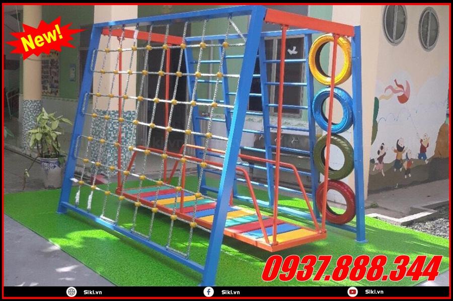 Các lợi ích khi mua thang leo mầm non tại showroom đồ chơi trẻ em Vân Anh