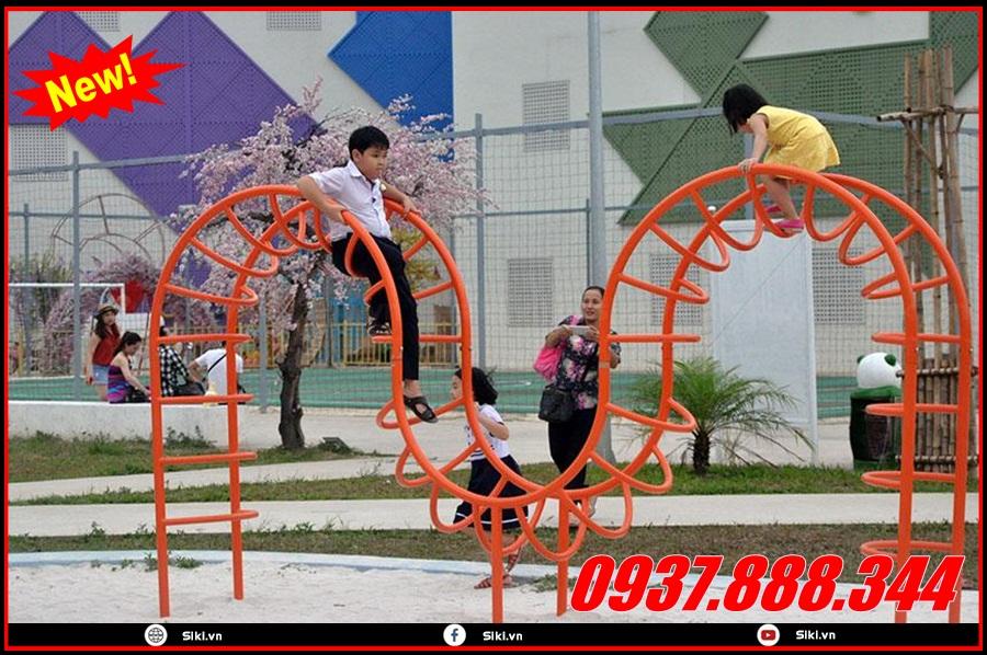 Đồ chơi thang leo mầm non các loại tại công ty Vân Anh