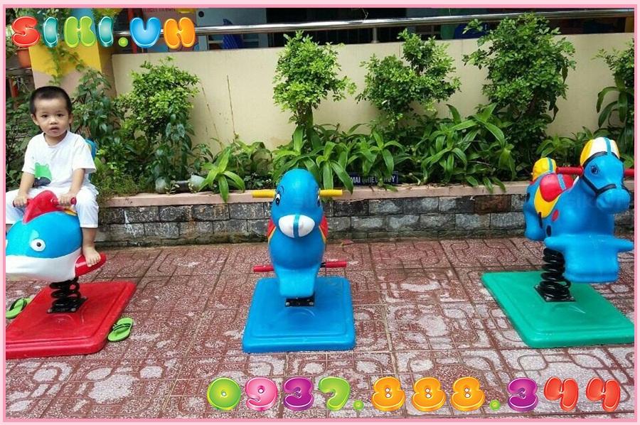 Xu hướng thú nhún lò xo cho trẻ em 2020 ở Sài Gòn