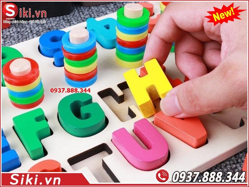 Trang thiết bị trường mầm non Vân Anh: đồ chơi lớp học mầm non
